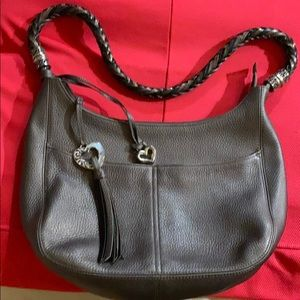 GENUINE BRIGHTON BARBADOS LEATHER BAG
